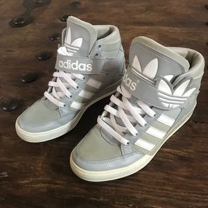 Adidas grey old school high top